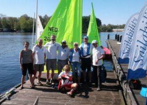 Zeilen met een handicap bij Sailability locatie De Koenen Amsterdam
