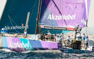 Simeon Tienpont Akzo Volvo Ocean Race Ambassadeur Sailability
