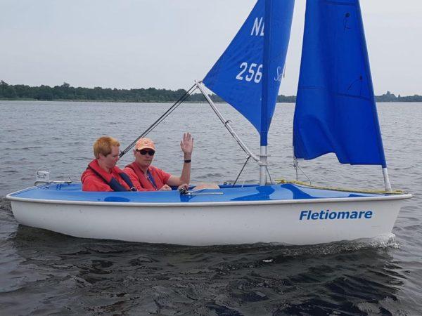 Gehandicaptensport Zeilen met Sailability Ottenhome Loosdrecht Kortenhoef