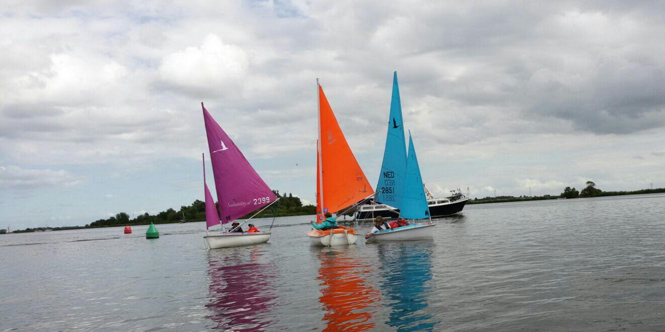 Gehandicaptensport Sailability Uitgeest Zeilen Met Een Beperking