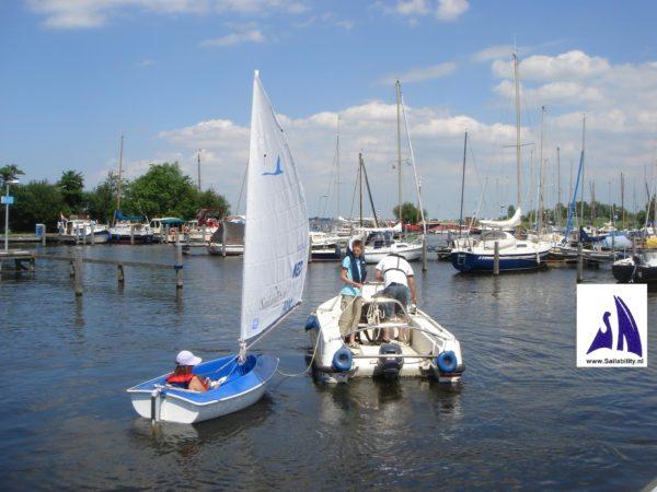 Sailability ZWVU Uitgeest Zeilen Voor Gehandicapten