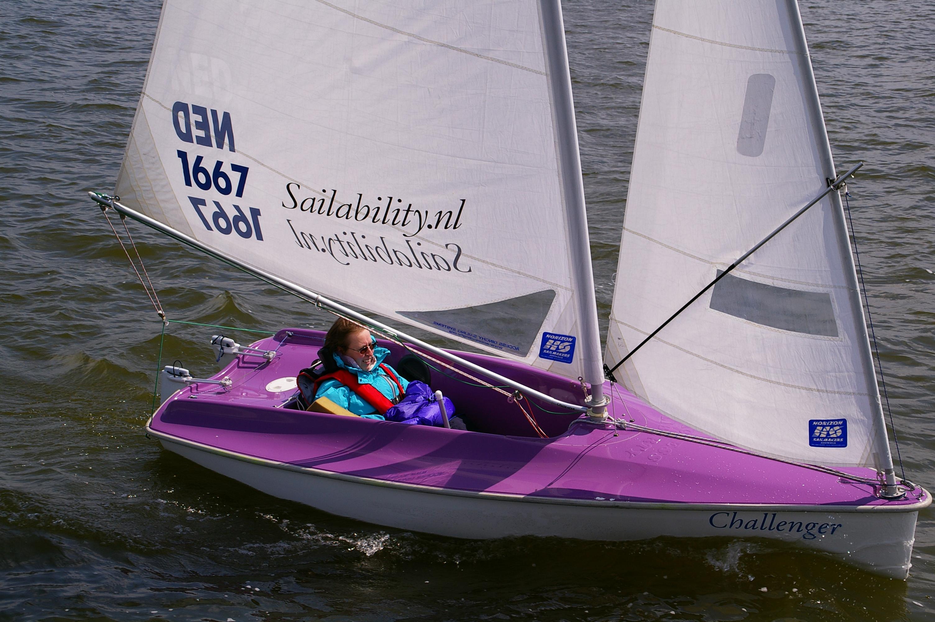 Sailability Locatie Zeewolde WV Zeewolde Zeilen Met Een Handicap