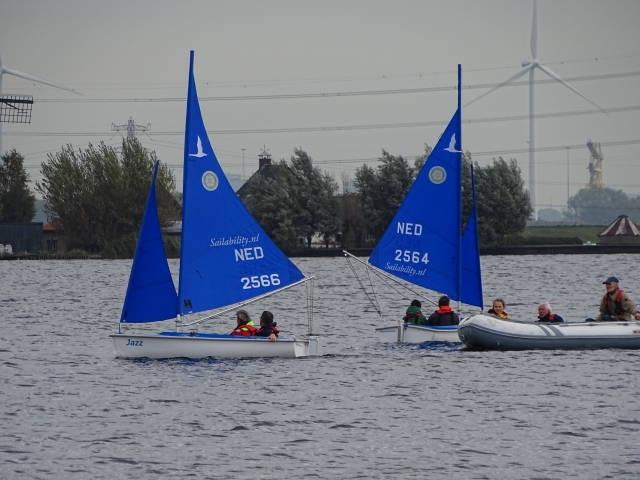 Gehandicaptensport - Sailability Haarlem - zeilen met een beperking