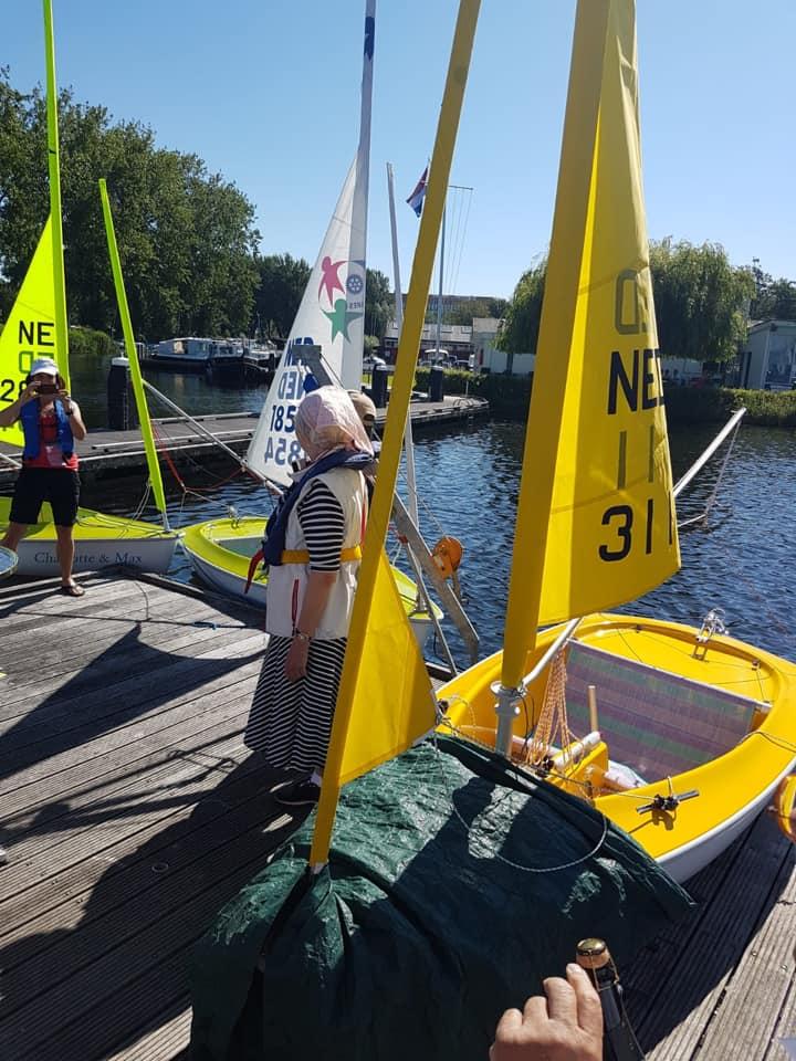 Sailability De Koenen nieuwe zeilboot